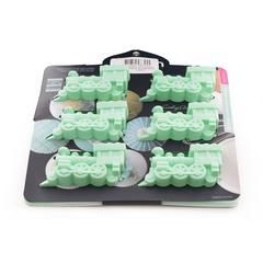 Форма для выпечки 6 кексов ПАРОВОЗЫ Fissman 6725