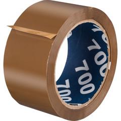 Скотч клейкая лента упаковочная Unibob коричневая 50 мм x 66 м толщина 47 мкм (морозостойкая)