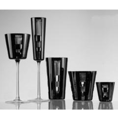 Фужер для шампанского Champagne 110 мл. Серия Retro Black, фото 2