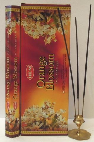 Благовония HEM Orange Blossoms Цветки апельсина (8 шт)
