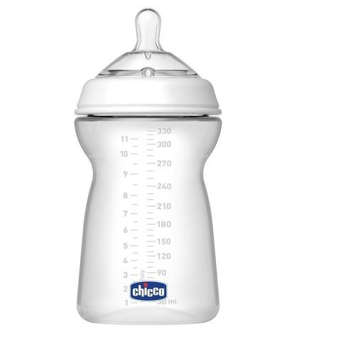Бутылочка Natural Feeling,6мес.+,сил.соска с флексорами,330мл. (стандарт)
