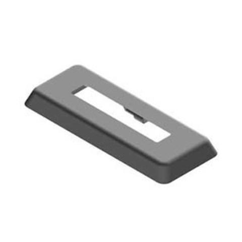 Декоративная розетка напольного крепления для радиатора 200 мм (черновой пол)
