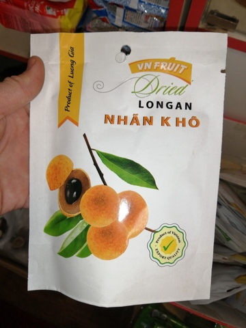 Лонган сушеный Vn Fruit - Коробка 30х100 гр.