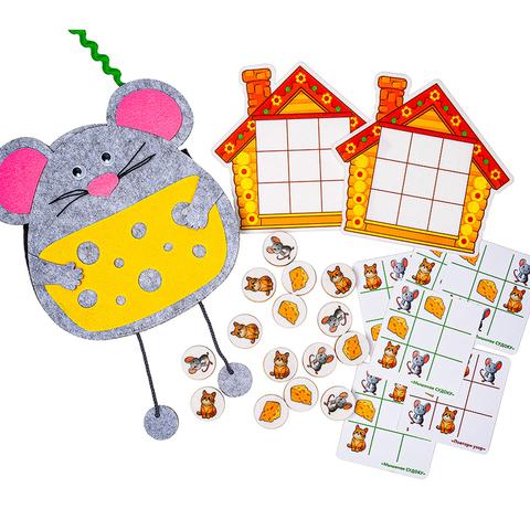 Логическая игра Умные мыши, Smile Decor Ф202