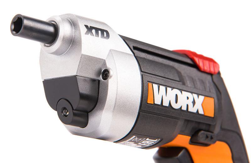 Отвертка аккумуляторная WORX WX252 4V XTD + ЗУ+ Набор бит (10шт)
