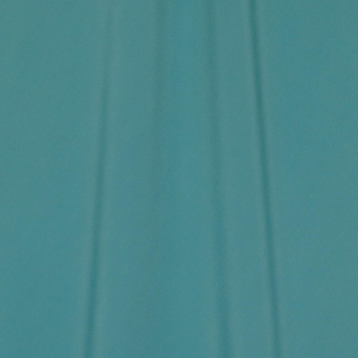 Шёлковый крепдешин тёмно-мятного цвета