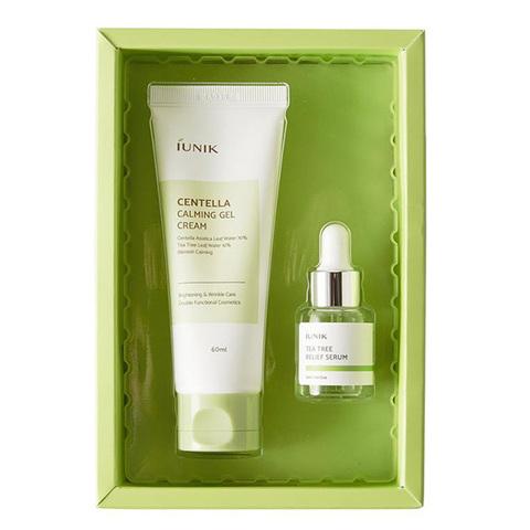 IUNIK Centella Edition Skincare Set набор для проблемной кожи с центеллой и чайным деревом