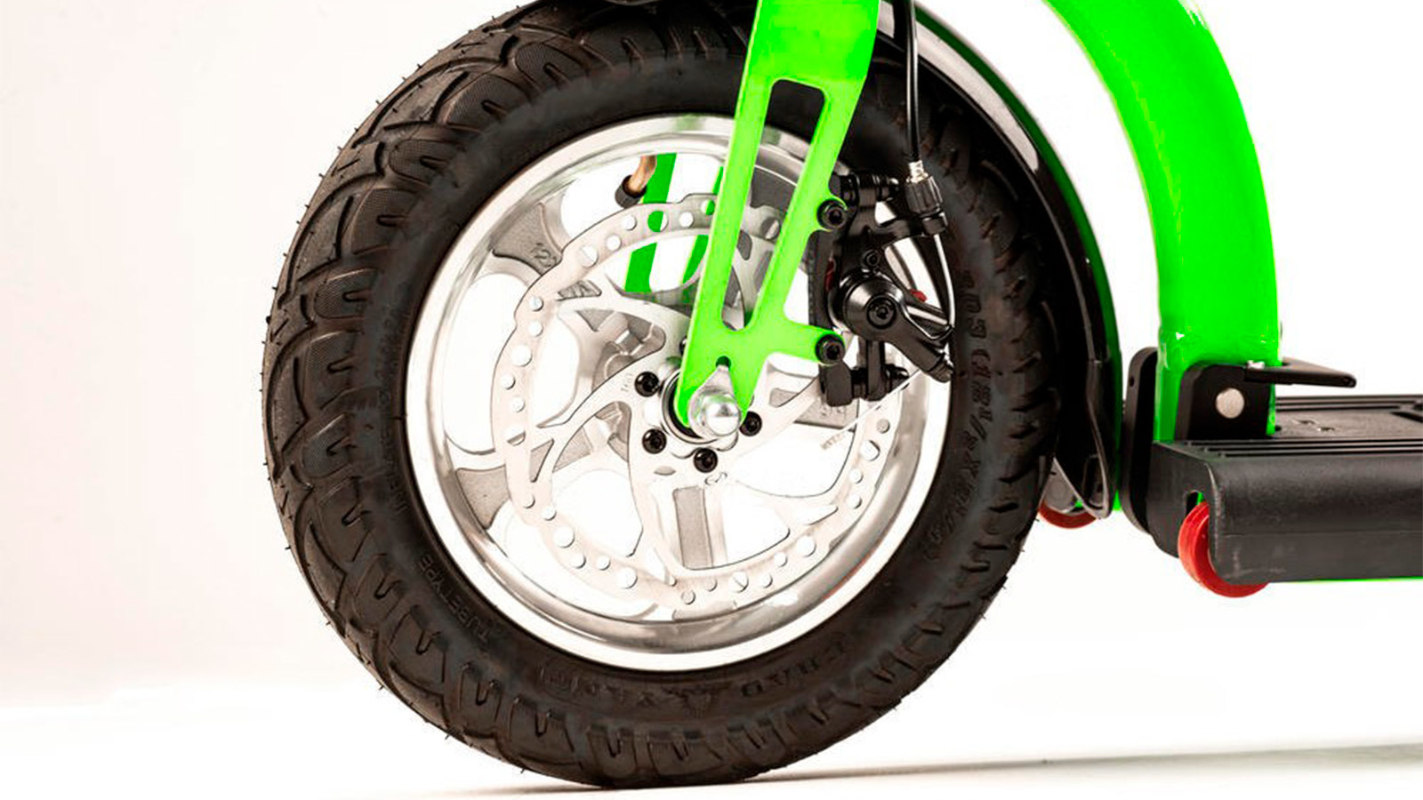 переднее колесо электросамоката