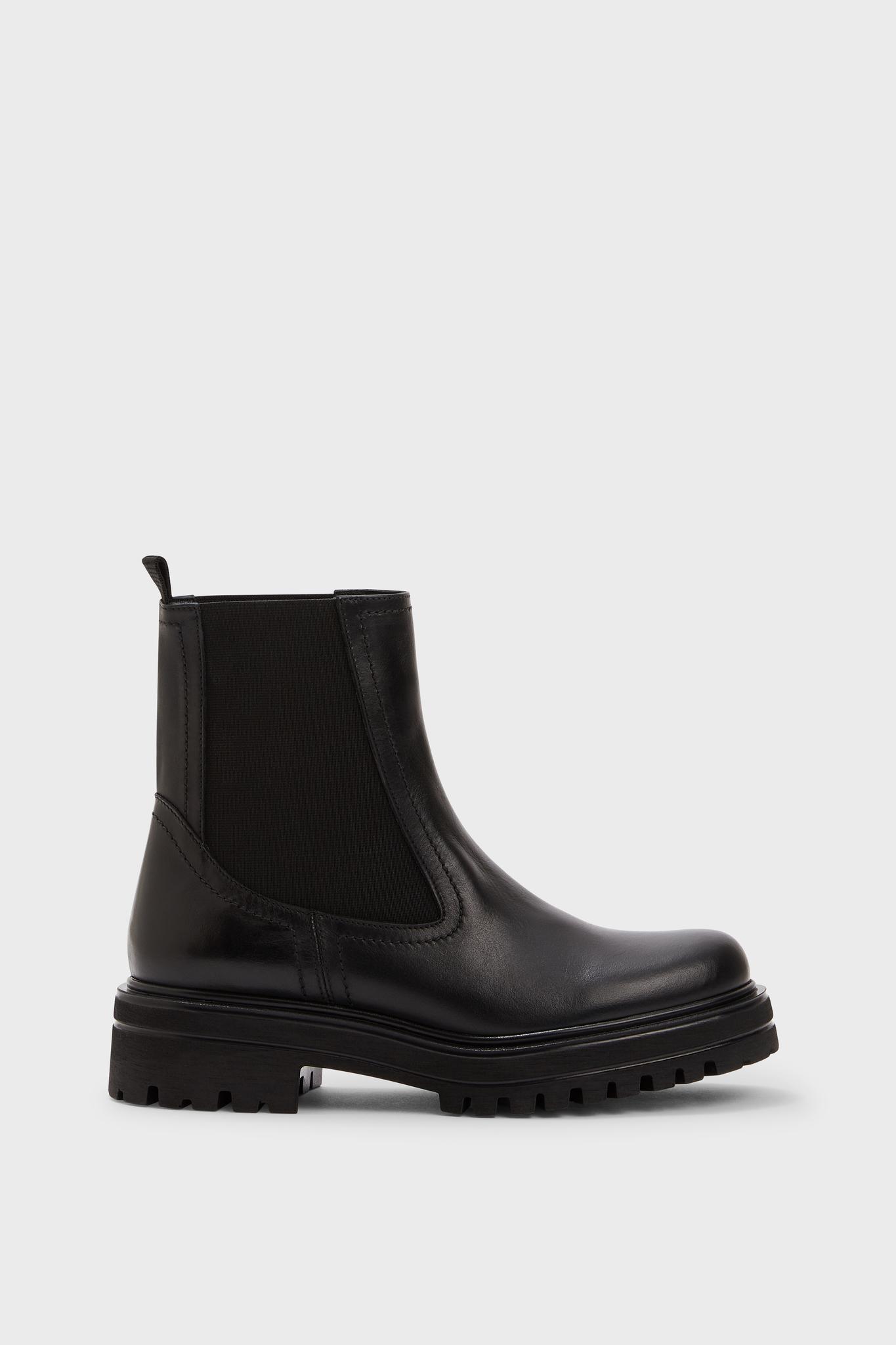 WALKER - Ботинки из гладкой кожи