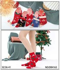 Носки новогодние женские (5 пар) арт. DB4163