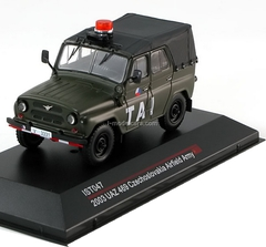 UAZ-469 Czechoslovakia Airfield Army green 2005 IST047 IST Models 1:43