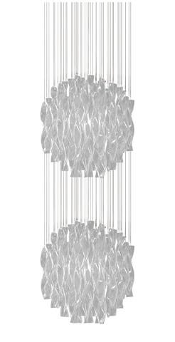 Подвесной светильник копия AURA by AXO LIGHT/2 D 60 cm (прозрачный)