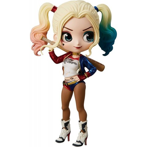Фигурка Q Posket Suicide Squad: Harley Quinn (A Normal color)