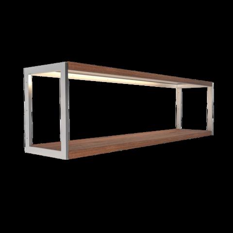 Steel shelf with wood GARAGE