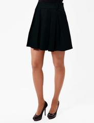 2498-1 юбка черная