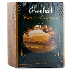 Чай чёрный Greenfield Classic Breakfast 100*2г