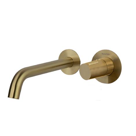 Встраиваемый смеситель для раковины TZAR 342103OC золотой