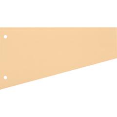 Разделитель листов Attache картонный 100 листов оранжевый (230x120 мм)