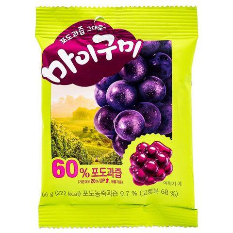 Жевательный мармелад Orion My Gummy со вкусом винограда 66 гр