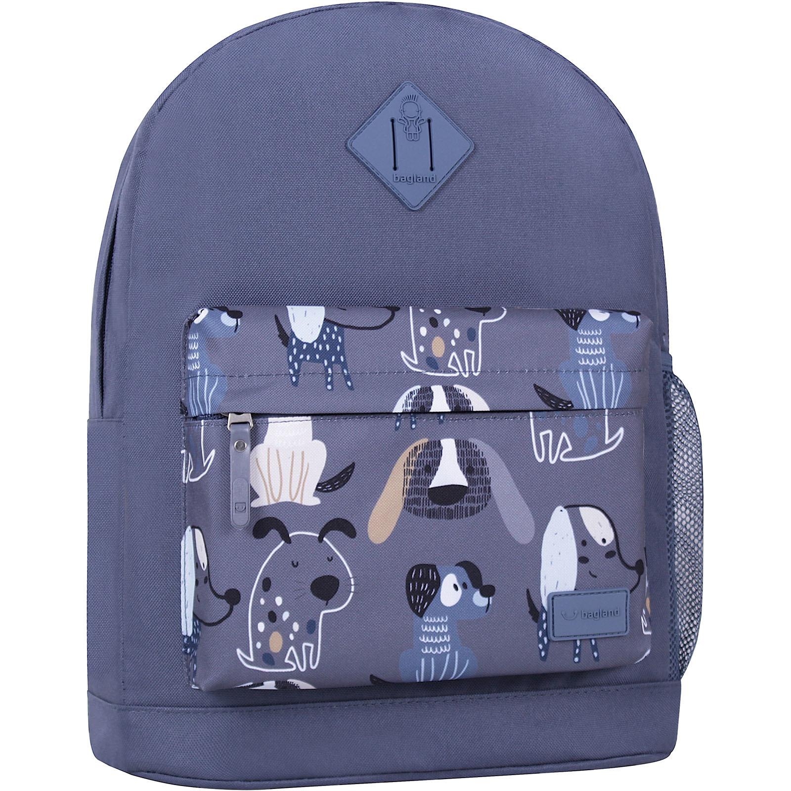 Молодежные рюкзаки Рюкзак Bagland Молодежный W/R 17 л. Серый 771 (00533662) IMG_6346_суб.771_.JPG