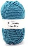 Пряжа Drops Merino Extra Fine 28 темно-лазурный
