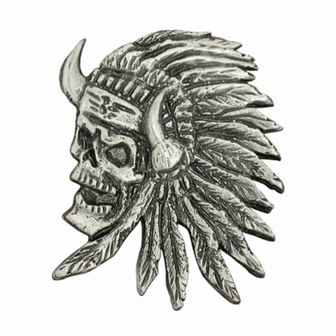 Значок 'Indian Skull'