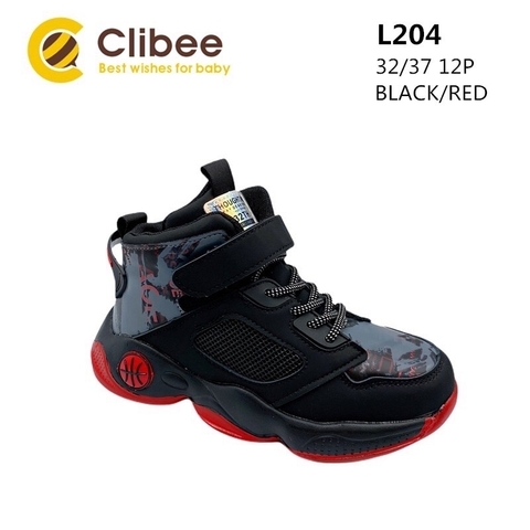 Clibee L204 Black/Red 32-37