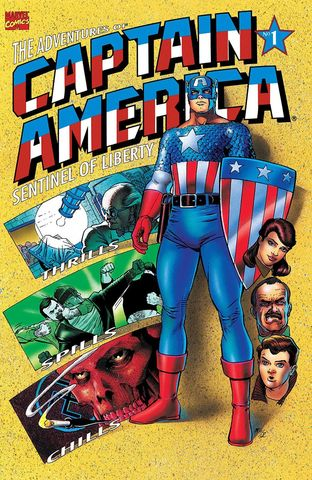 The Adventures of Captain America. Book One of Four