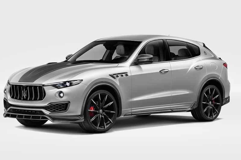 Обвес Larte Design Shtorm для Maserati Levante