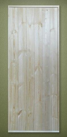 Дверь деревянная банная клиновая 1600х600 с коробкой 100 мм