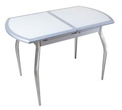 Обеденный раздвижной стол из мдф и искусственного камня Веста ДК