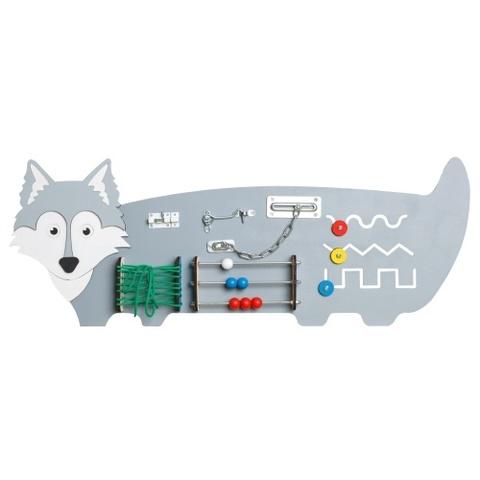 Бизиборд Волк 88х35 см