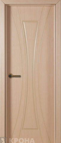 Дверь Крона Эстет, цвет беленый дуб, глухая