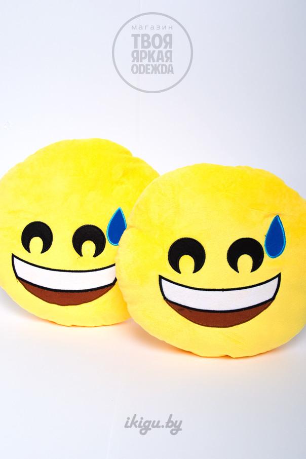"""Подушки Подушка Эмоджи """"Смеющийся"""" смеющися.jpg"""