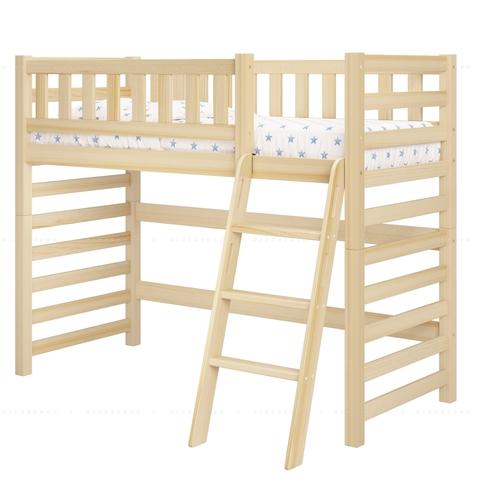 Детская кровать-чердак из дерева Relax - базовая комплектация