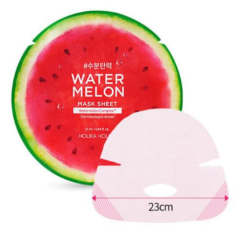 Holika Holika Water Melon Mask Sheet тканевая маска с экстрактом арбуза