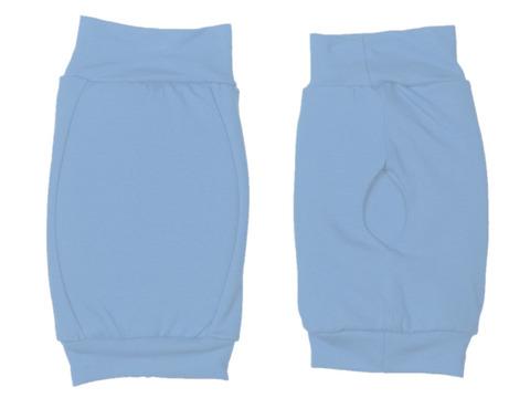 Наколенник для гимнастики и танцев ИНДИГО, р.М, цвет голубой  (материал: трикотаж, поролон) :(г):