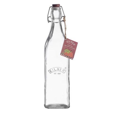 Бутылка Clip Top квадратная 1 л