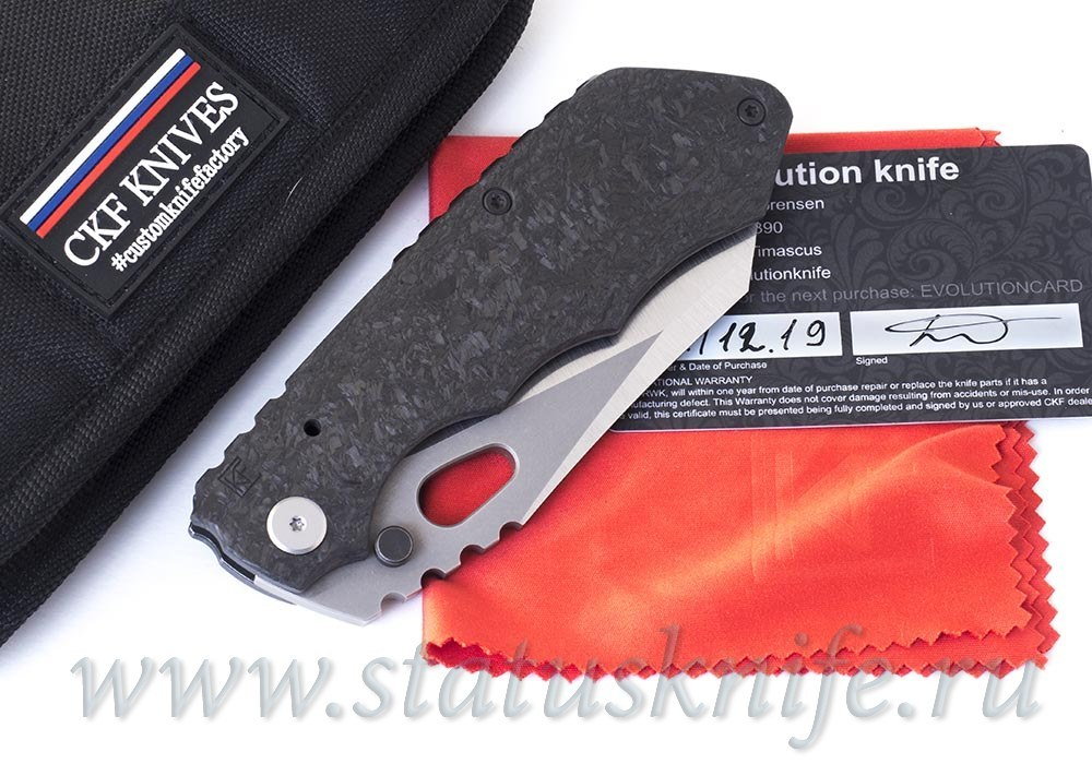 Нож CKF/Rotten Evolution CF collab