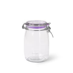 Банка для хранения продуктов 1000мл (стекло)