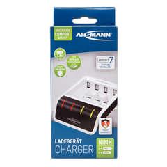 Быстрое зарядное устройство ANSMANN Comfort Smart с USB для NiMH-AAA/AA