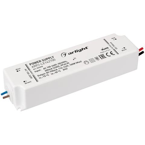 Блок питания ARPJ-LE142700 (100W, 700mA, PFC) (ARL, IP67 Пластик, 3 года)