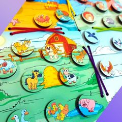 Развивающая игра Небо, море и земля ToySib 03022
