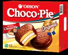 """Печенье """"Orion"""" Choco-pie 12  шт 360г"""