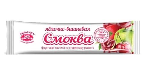 Пастила СМОКВА яблочно-вишневая, 30 гр. (Эко пастила)