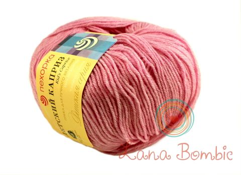 Пряжа Пехорка Детский каприз розовая сирень 29