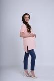 Футболка для беременных 09559 розовый
