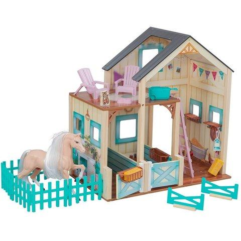KidKraft Конюшня Сладкий луг - кукольный домик с аксессуарами 63534_KE