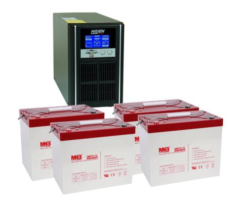 Комплект ИБП UDC9202H-АКБ MM75 (48в, 1600Вт)