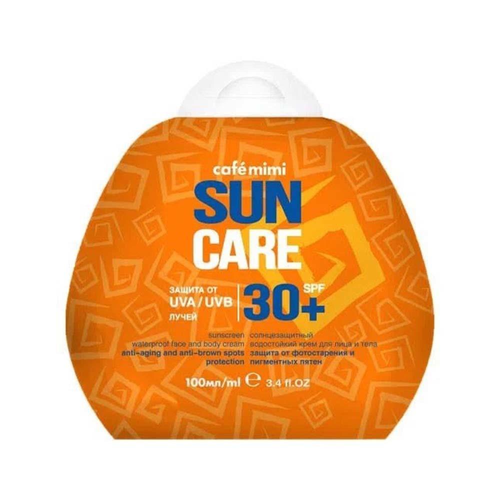 Крем солнцезащитный водостойкий для лица и тела SPF30